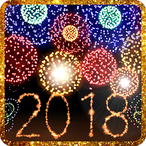 New Year 2018 fireworks For PC