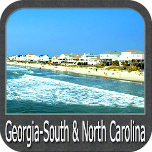 Georgia South to North Carolina GPS Map Navigator For PC