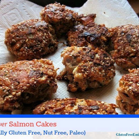 The Best Ever Gluten-Free Salmon Cakes (Grain Free, Dairy Free, Nut Free Plus)
