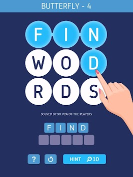 Word Space-Search Hidden Words apk screenshot
