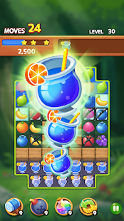 Fruit Magic Master: Match 3 Puzzle