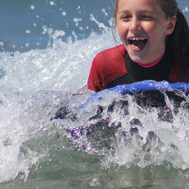 Catching that wave! by Louise Wheatley - Novices Only Sports ( KidsOfSummer )