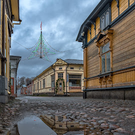 by Bojan Bilas - City,  Street & Park  Street Scenes ( urban, urban exploration, nature, beautiful, suomi, fine art, finland, architecture, travel, landscape, city, rauma )