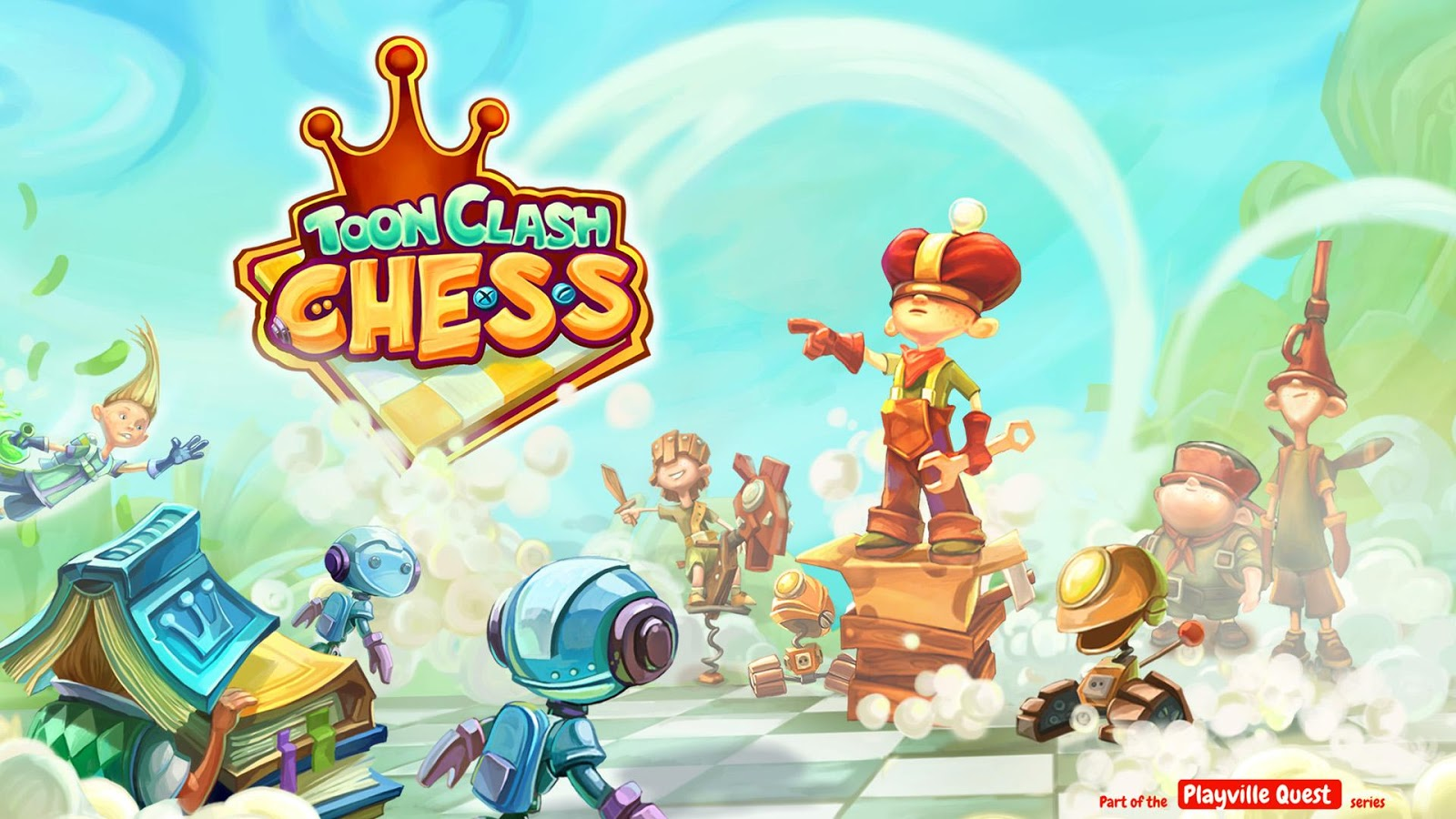 Тoon Clash Chess Screenshot 0