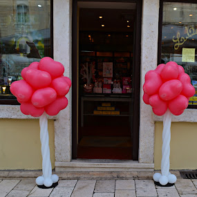 pink by Jelena Puškarić - Artistic Objects Other Objects ( hearts, pink, balloons,  )