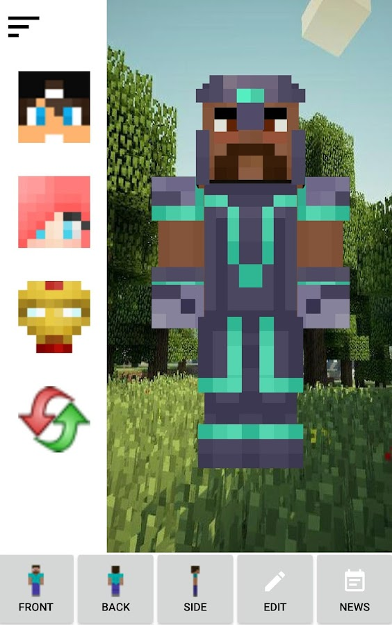 Skin Creator Minecraft Pro Screenshot 13