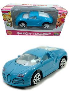 """Машинка гоночная """"Фиксики"""" 1:64 Нолик синяя"""