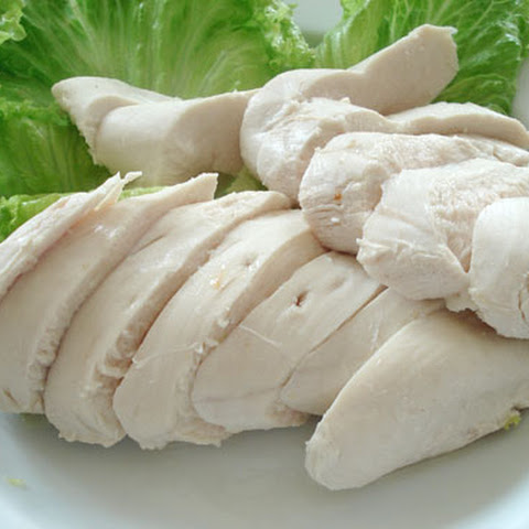 The Easiest Always-moist Poached Chicken