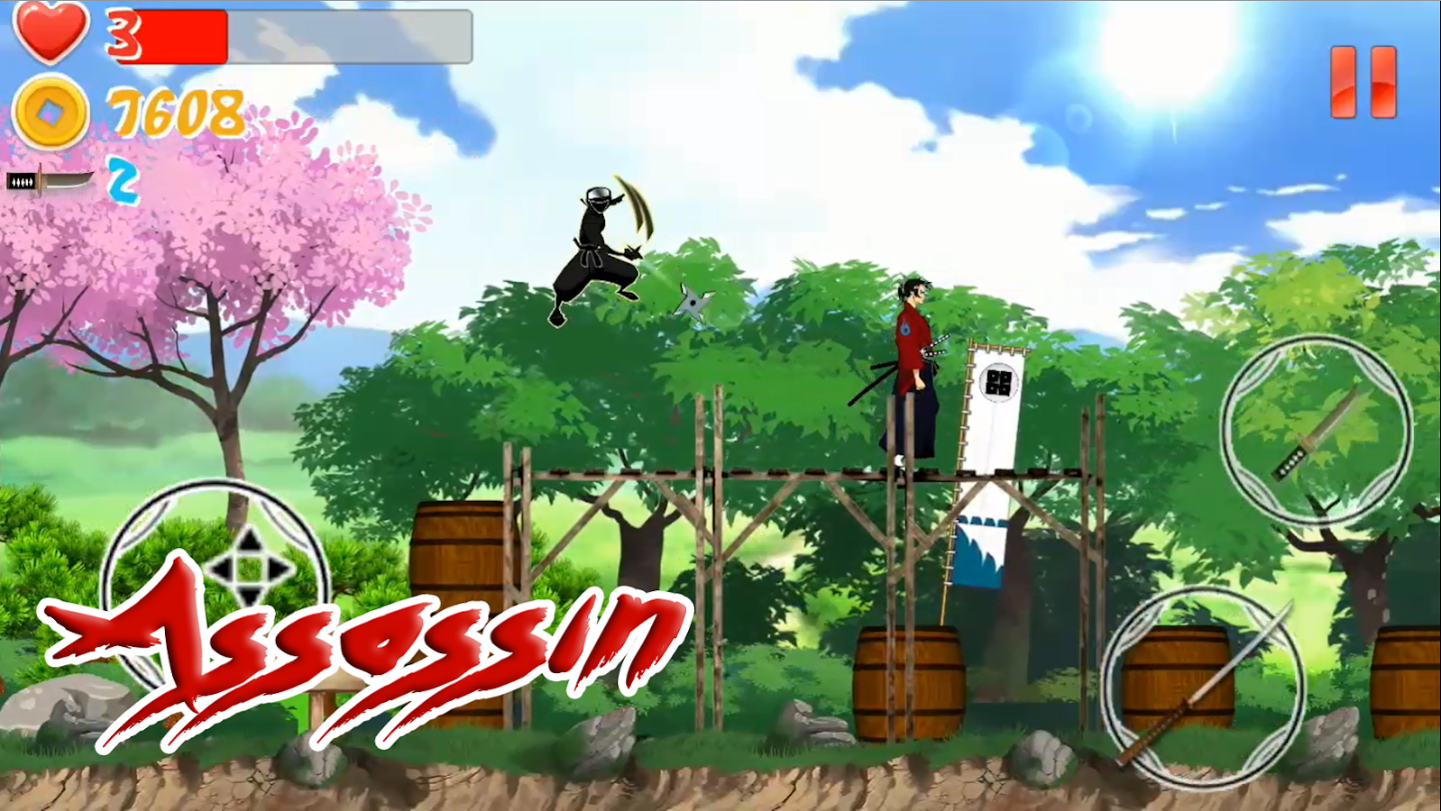 Samurai Ninja Fighter Screenshot 2