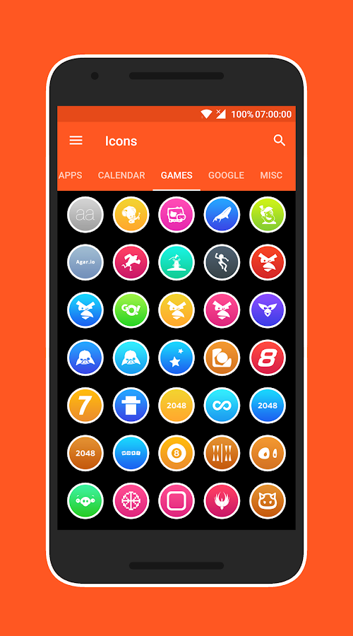 Lux Light - Icon Pack Screenshot 7