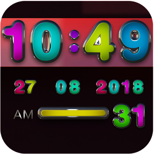 Cover art Omni Digital Clock Widget
