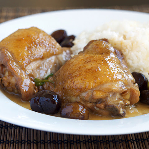 Braised Chicken with Chestnuts