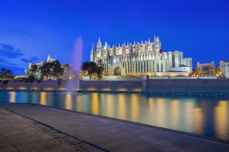 Cathedral Palma De Mallorca by Jirka Vráblík - Buildings & Architecture Public & Historical ( cathedral, mallorca, palma de mallorca )