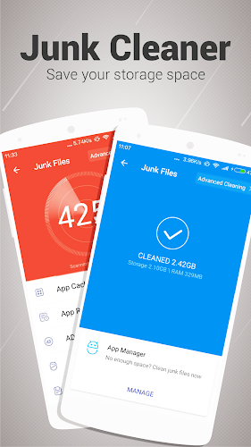 Super Cleaner - Antivirus Android App Screenshot