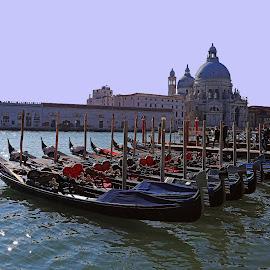 Gondola's by Wilson Beckett - Transportation Boats (  )