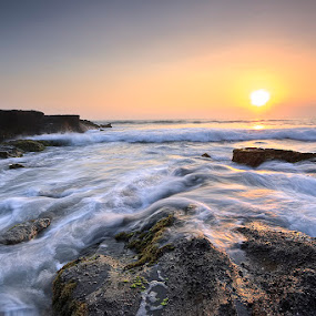 kedungu beach by Oka Wimartha - Landscapes Waterscapes