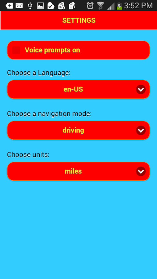 Voice Navigation - no ads Screenshot 2