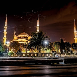 istanbul by Haddouchi Tarik - City,  Street & Park  Night ( night, turkey, istanbul, photography, city )