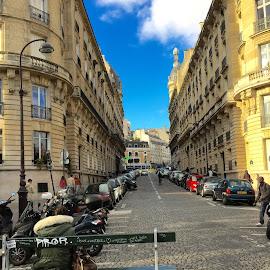 The Paris Streets by Megan Miller - Buildings & Architecture Architectural Detail ( paris, street, buildings, france, people,  )