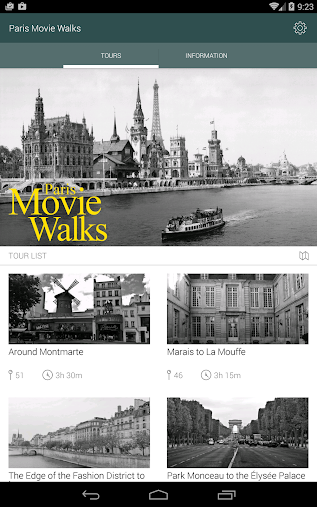 Paris Movie Walks APK