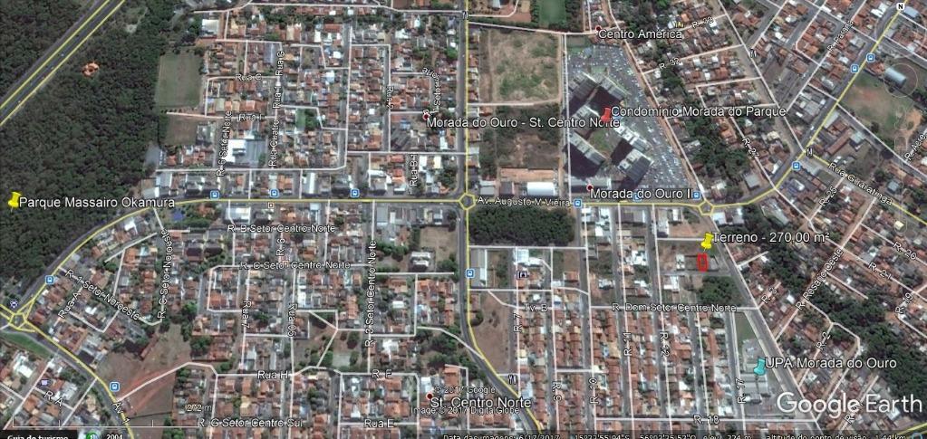 Terreno residencial à venda, Morada do Ouro II, Cuiabá.