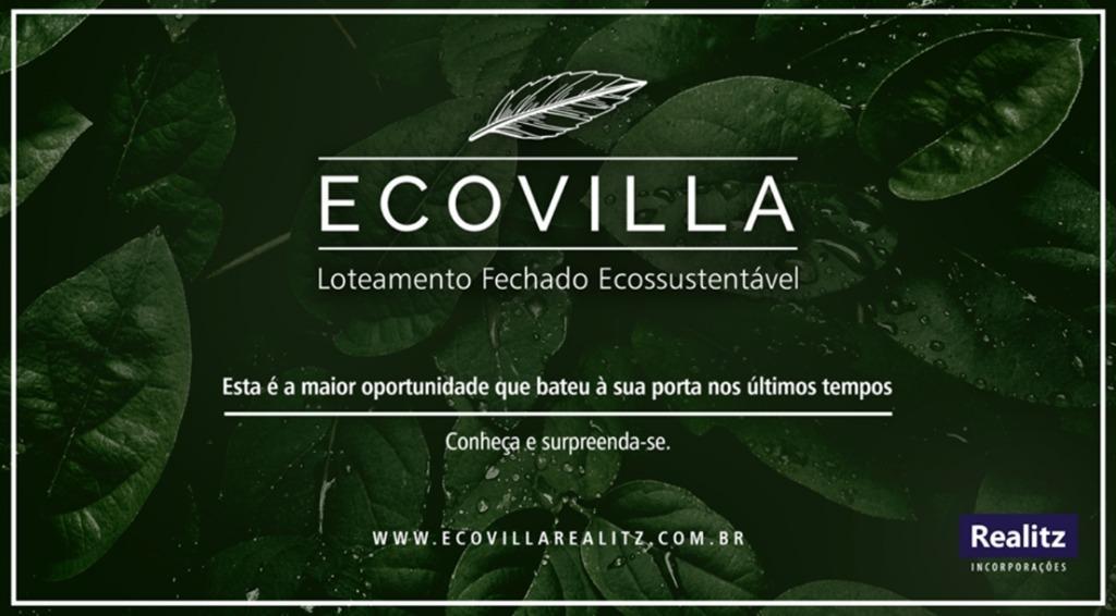 Ecovilla Realitz, Terrenos à Venda, Condomínio de Alto Padrão, Excelente Localização. Oportunidade!