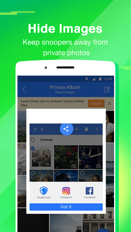 Private Zone-Applock&Hide pics Screenshot 2