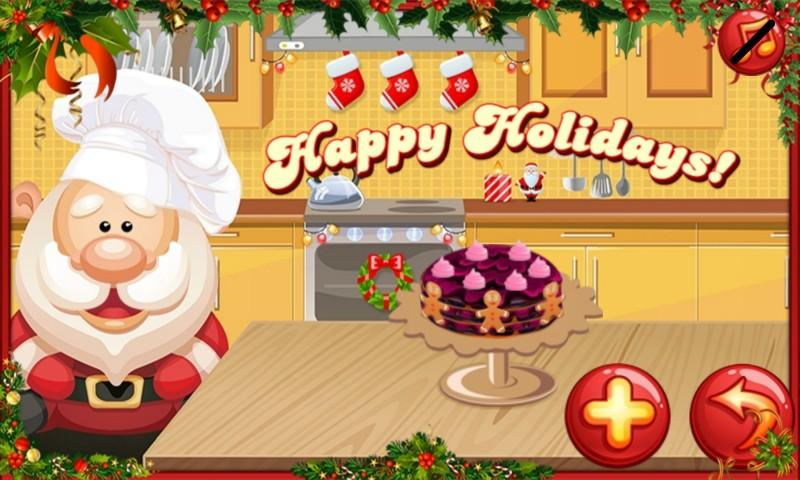 android Santa Cake Salon Screenshot 11