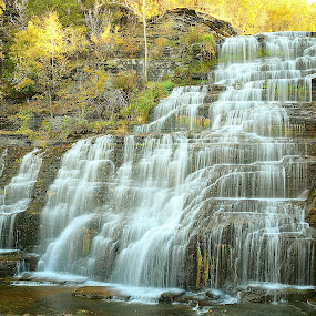 Hector Falls by Travis Houston - Landscapes Waterscapes (  )