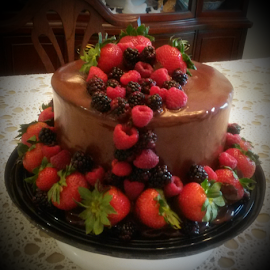 Death by Chocolate Cake by Brenda Whitten - Food & Drink Cooking & Baking ( 9014935002, cakes, event, wedding, brenda whitten, ms, southaven, party, baker )