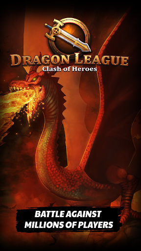 Dragon League - Clash of Mighty Epic Cards Heroes screenshot 1