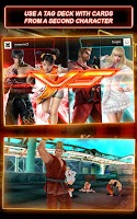 Screenshot of Tekken Card Tournament (CCG)