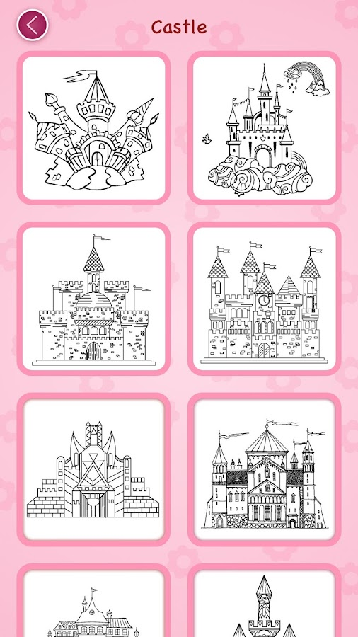 Princess coloring book Screenshot 7