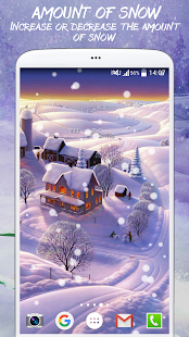 Cute Winter Live Wallpaper - screenshot
