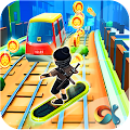 Ninja Subway Surf: Rush Run In City Rail APK for Bluestacks