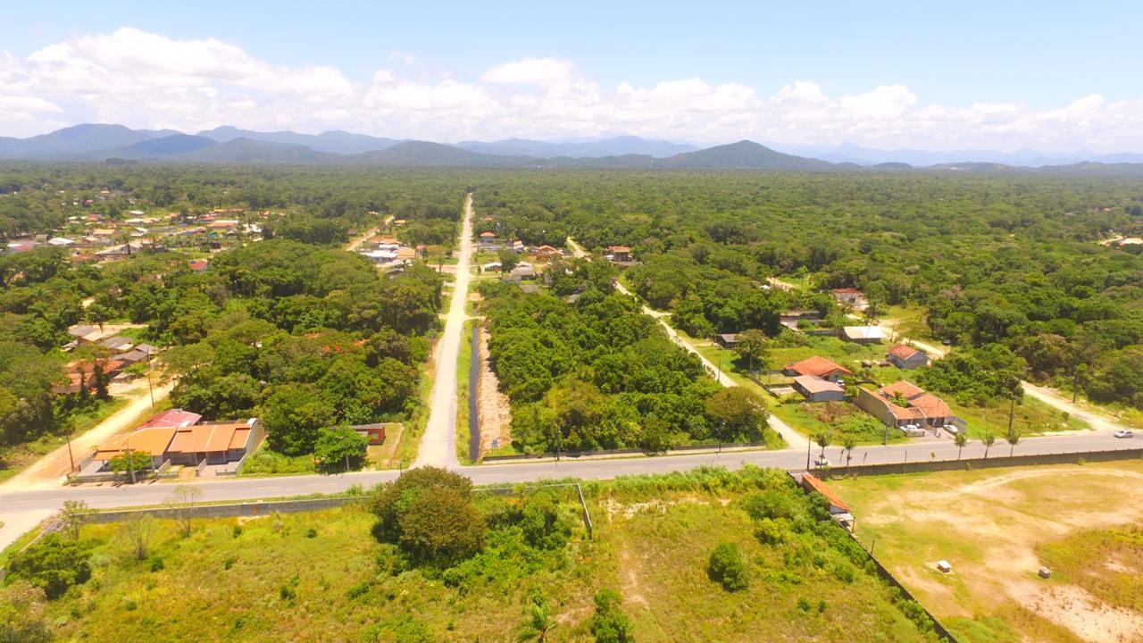 Terreno à venda, 336 m² por R$ 110.000,00 - Alvorada - Itapoá/SC. Frente para o asfalto ! Região em acelerado desenvolvimento