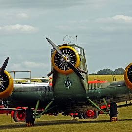 Duxford plane 26 by Michael Moore - Transportation Airplanes (  )