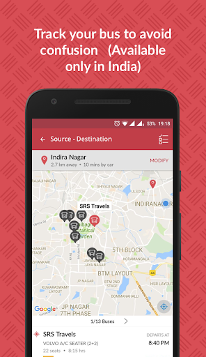 redBus - Online Bus Ticket Booking, Hotel Booking screenshot 5