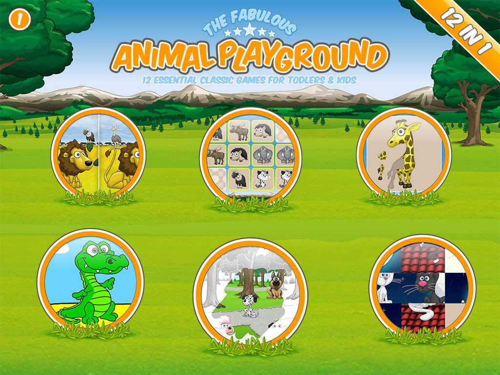 The fabulous Animal Playground Screenshot 0