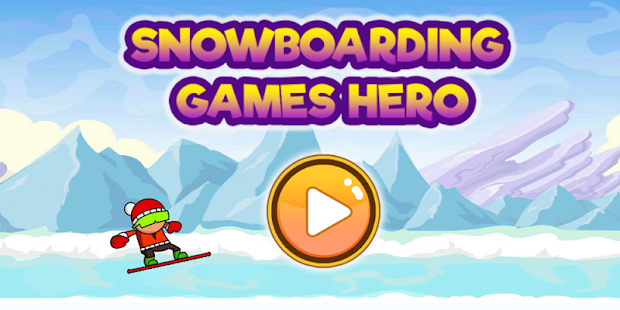 Snowboarding Games Hero