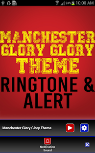 Manchester Glory Glory Theme - screenshot