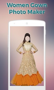 Women Gown Dress Photo Maker- screenshot thumbnail