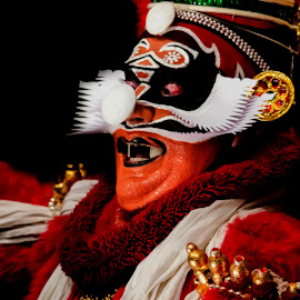 The faces of Chronicler-1 by Vijayanand Kandasamy - People Musicians & Entertainers ( dance, kathakali,  )