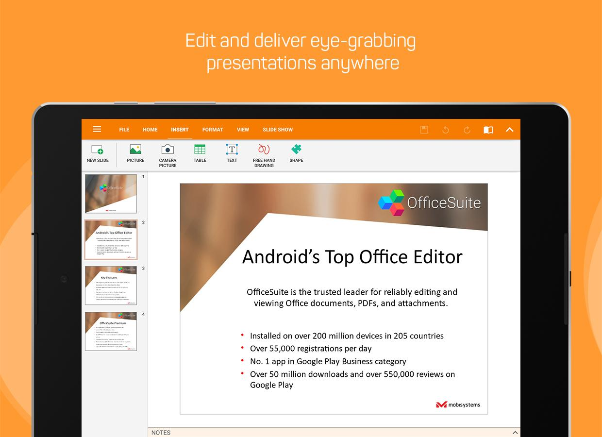 OfficeSuite : Free Office + PDF Editor Screenshot 11