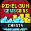 Gems Coins Pixel Gun 3D: PRANK