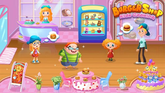 Burger Shop - Kids Cooking 이미지[4]