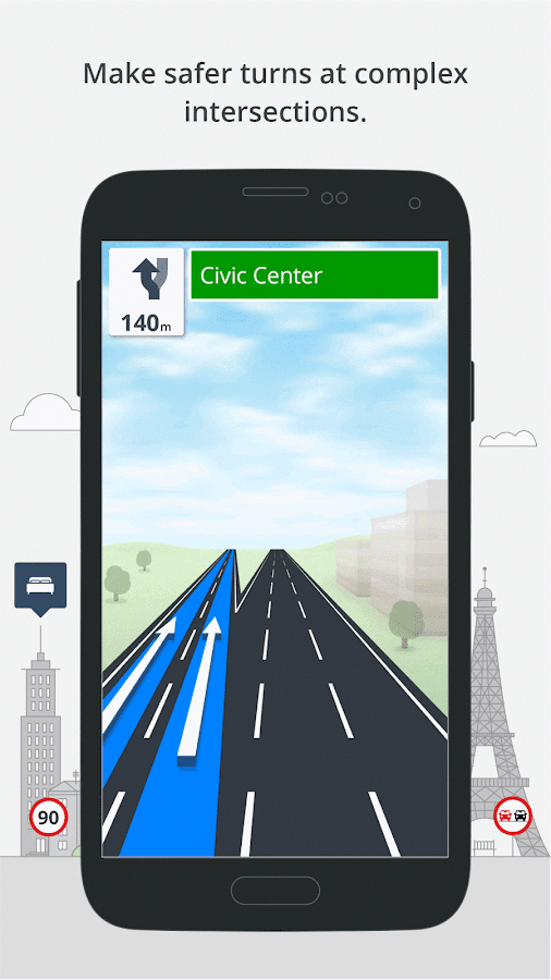 GPS Navigation & Maps Sygic Screenshot 4