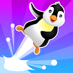 BouncyPenguin: Jump Icon