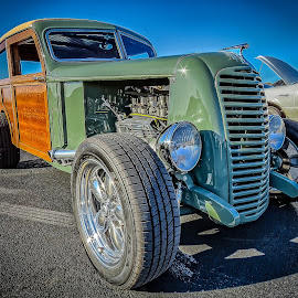 Panel Wagon by Ron Meyers - Transportation Automobiles
