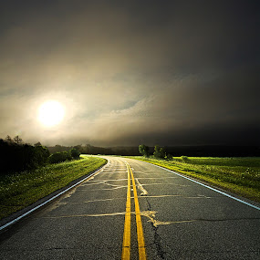 Roads by Phil Koch - Landscapes Travel ( summer. spring, vertical, photograph, environement, farmland, yellow, leaves, love, nature, autumn, flowers, orange, twilight, agriculture, horizon, myhorizonart, portrait, winter, national geographic, serene, floral, roads, inspirational, natural light, wisconsin, phil koch, spring, sun, photography, farm, praire, horizons, inspired, clouds, office, green, scenic, morning, field, red, seasons, blue, sunset, peace, fall, meadow, earth, sunrise, landscapes, filed,  )